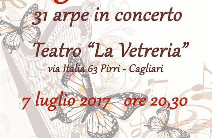 Magia d'estate   31 arpe in concerto